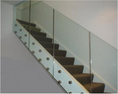 Ballinasloe glass for Balcony barrier